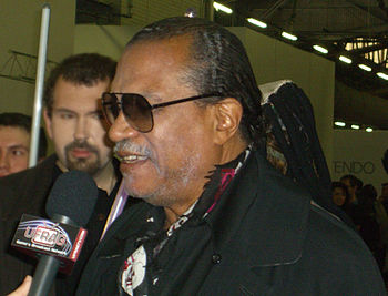 English: Actor Billy Dee Williams at the Big A...