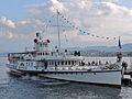 100 Jahre Dampfschiff 'Stadt Rapperswil' - Tag der offenen Dampfschiff-Türe am Bürkliplatz - Alpenquai 2014-04-26 17-47-16 (P7700).JPG