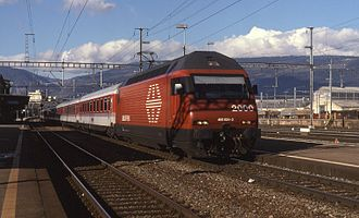 EuroCity - Eurocity operated by SBB at Yverdon Station