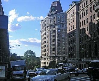 116th Street (Manhattan) - West 116th Street near Riverside Drive.