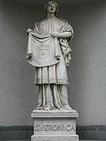 1170 Veronikagasse Ottakringer Straße - Statue der Hl. Veronika IMG 3065.jpg