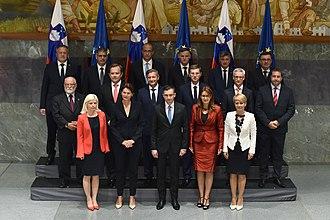 13th Government of Slovenia - Image: 13. vlada Republike Slovenije