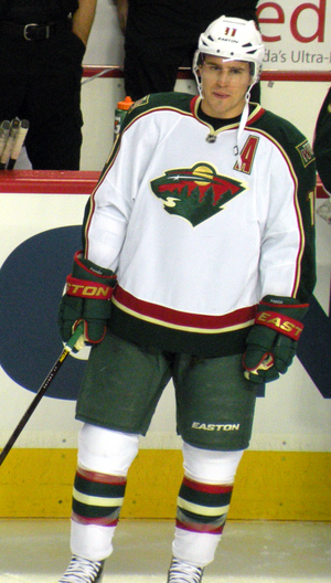 Zach Parise - Parise in 2013 during his first season with the Minnesota Wild