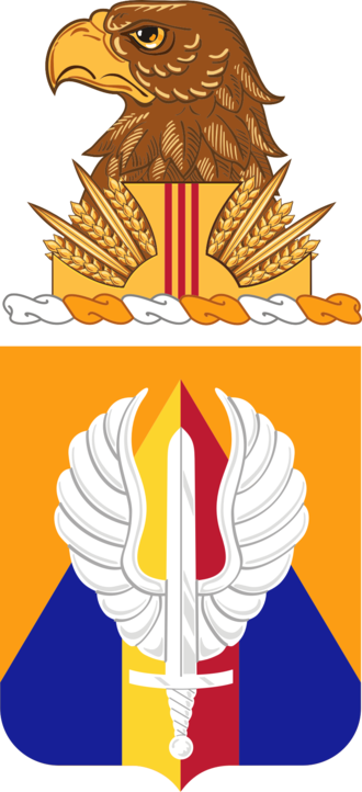 13th Aviation Regiment (United States) - Coat of arms