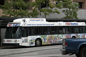 RTD Bus & Rail - RTD's three modes of public transit