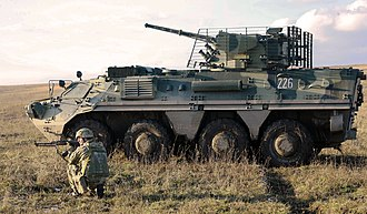 Kharkiv Morozov Machine Building Design Bureau - BTR-4 assigned to Ukrainian Armed Forces