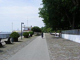 Weserpromenade in Bremen