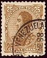 1888 25c litho Venezuela DC Yv34 Mi34A.jpg