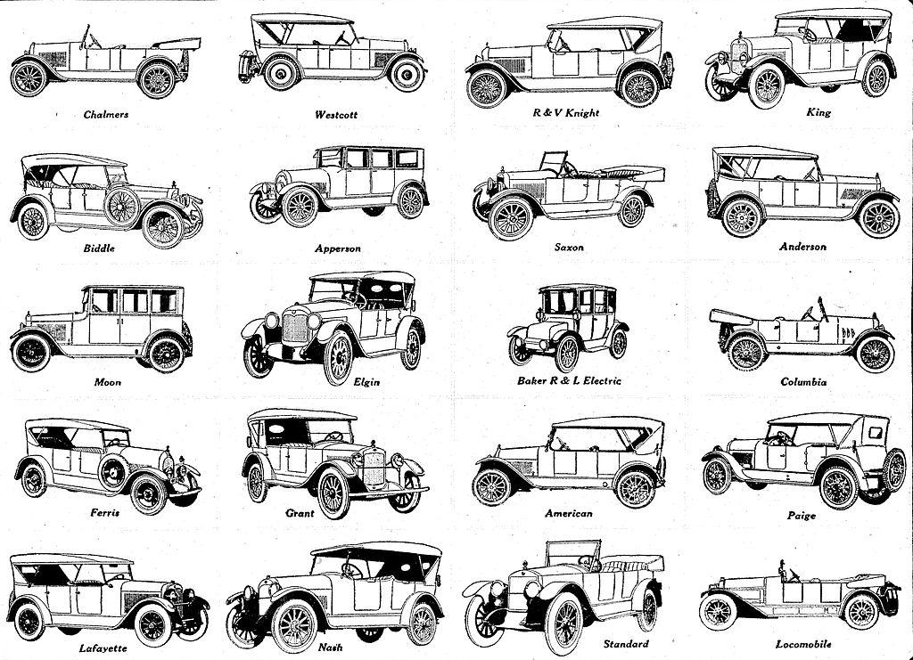Výsledek obrázku pro cars 1920