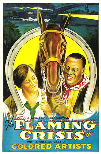 The Flaming Crisis - American Theatrical Release Poster 1924