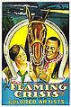 1924 The Flaming Crisis poster.jpg