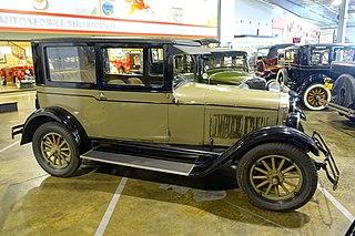 Pontiac Six Motor vehicle