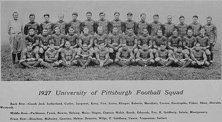 1927 Pittsburgh Panthers football team American college football season