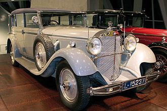 "Mercedes-Benz 770 - 1932 Mercedes-Benz 770 (W07) ""Grosser"" cabriolet, formerly owned by ex-emperor Wilhelm II"