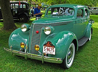 Studebaker Dictator - 1937 last Dictator 4-door sedan