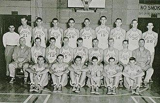 1947–48 Kentucky Wildcats men's basketball team - Image: 1948 Kentucky Wildcats