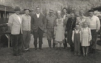 German immigrants in southern Chile 1951 settler families.JPG