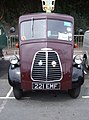 1955 Morris J type van (221 EMF), 2009 HCVS London to Brighton run.jpg
