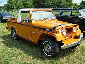 Jeepster Commando - Image: 1971 Jeepster Commando SC 1 pickup orange r Cecil'10