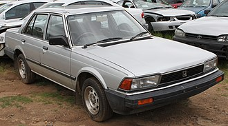 Honda Accord - European Specification Sedan (pre-facelift)