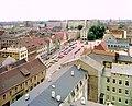 19860714200NR Cottbus Blick von Oberkirche zum Oberen Markt.jpg