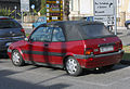 1995 Rover 100 Cabriolet (pre-facelift) - rear 2.jpg