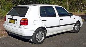Volkswagen Golf Mk3 - 1996–1998 Volkswagen Golf CL 5-door hatchback (Australia)
