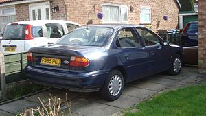 Ford Mondeo (first generation) - Saloon (pre-facelift)
