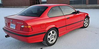 Car model - Image: 1999 e 36 329i S coupe