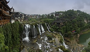 Tujia people - Furong, an ancient town located in Yongshun County of Xiangxi, Hunan