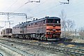 2ТЭ10М-2526, USSR, Saratov region, Trofimovsky-I - Saratov-I-Passanger stretch (Trainpix 159288).jpg