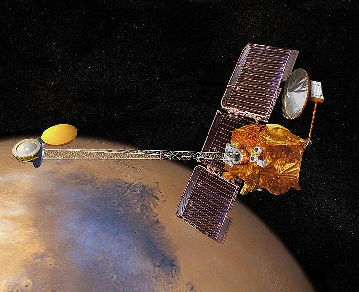 MISIJA - 2001 MARS ODYSSEY 737px-2001_mars_odyssey_wizja