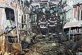 2003년 2월 대구광역시 대구 지하철 화재 참사 열차 내부 사진 Daegumetrofire02.jpg