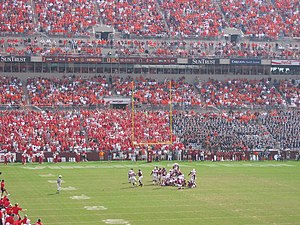 2004 Virginia Tech Hokies football team - Image: 2004 Virginia Tech NC State wide right