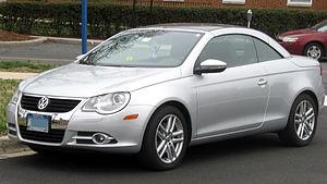 Volkswagen Eos - Image: 2007 2011 Volkswagen Eos 03 30 2011 2