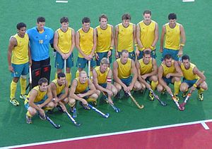 Australia men's national field hockey team - Australia at the 2008 Olympics