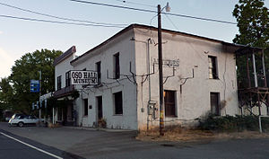 Bear Valley, Mariposa County, California - Oso Hall Museum in Bear Valley