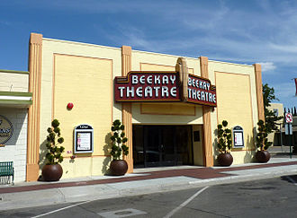 Tehachapi, California - The BeeKay Theater is a historic theater converted into a live theater for the Tehachapi Community Theater in 2008.