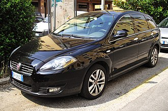 Fiat Croma - Image: 2010 Fiat Croma facelift