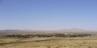 Carlin, Nevada - Image: 2012 10 08 View of Carlin in Nevada from the south side of the Humboldt River