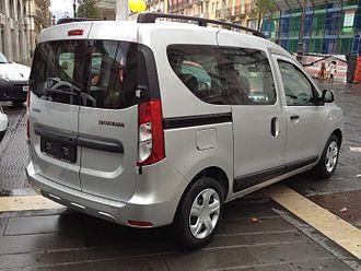 Dacia Dokker - Rear view