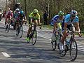 2012 Ronde van Vlaanderen, Descending Kwaremont - Boonen, Sagan, Pozzato, Flecha, Paolini (7044002391).jpg