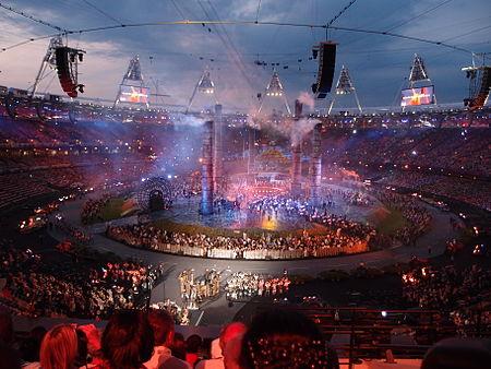 Upacara pembukaan Sukan Olimpik Musim Panas 2012