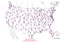 2013-05-01 Max-min Temperature Map NOAA.png