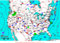 2013-06-19 Surface Weather Map NOAA.png