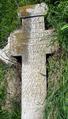 2013 - Cruce de la 1868 din cimitirul vechi al fostului sat Filiu. comuna Bordei Verde.png