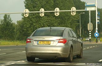 Chrysler 200 - Chrysler 200 in the Netherlands