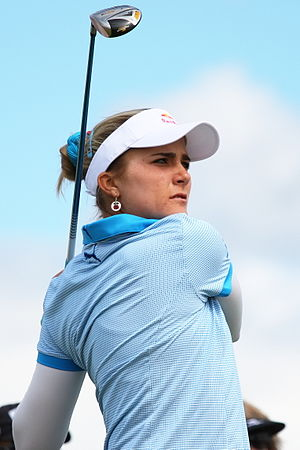 Lexi Thompson - Thompson at the 2013 Women's British Open