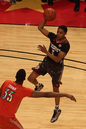 Tyler Ulis - Ulis at the 2014 McDonald's All-American Boys Game