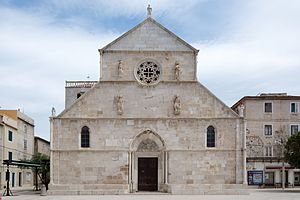 Pag (town) - Basilica of the Assumption of Mary